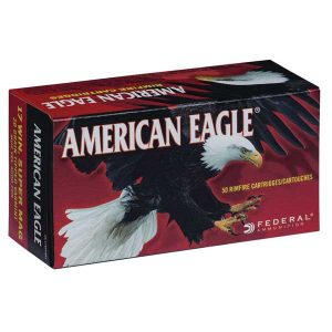 AMERICAN EAGLE .17 WSM 20gr V-TIPPED 50rd