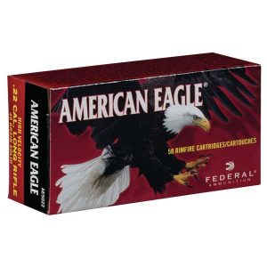 AMERICAN EAGLE .22 LR 40gr. SOLID