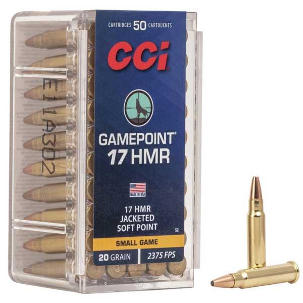 CCI GAMEPOINT .17 HMR