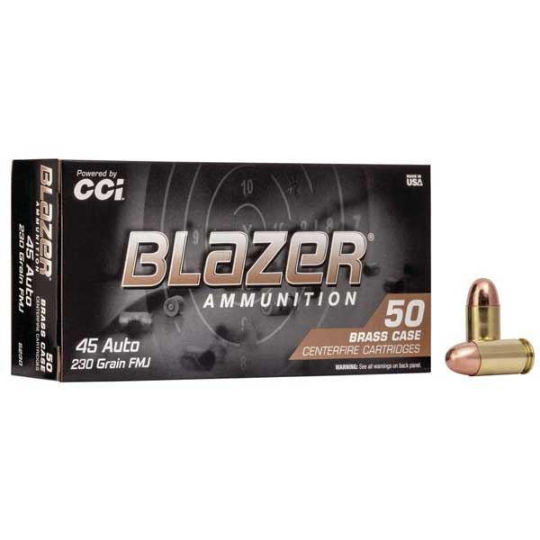 CCI BLAZER .45 ACP 230gr.FMJ