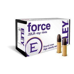 ELEY FORCE .22lr 42gr