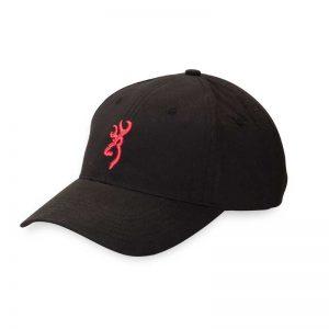 BROWNING CAP FOR HER BLK/SLMN