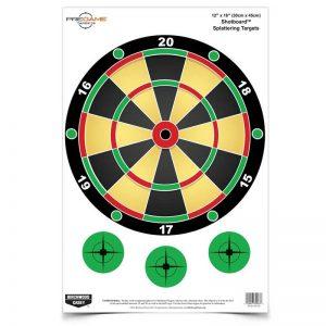 BIRCHWOOD CASEY SHOT BOARD TARGET 12x18