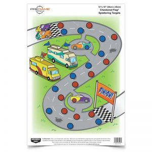BIRCHWOOD CASEY CHECKERED FLAG TARGET 12x18