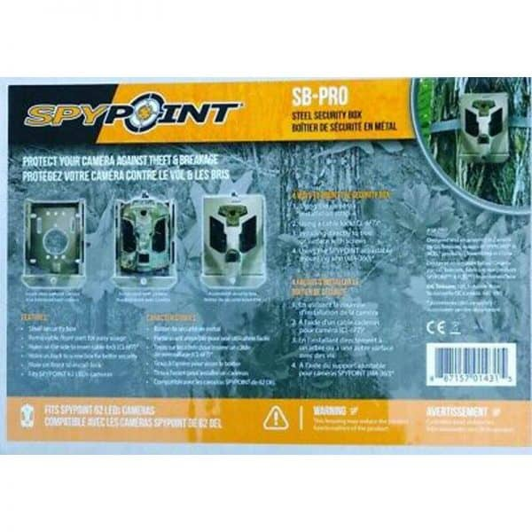 SPYPOINT-SECURITY BOX 62 LED