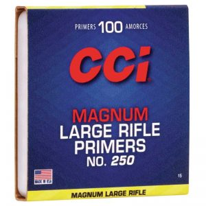 CCI 250 LARGE RIFLE MAG /100