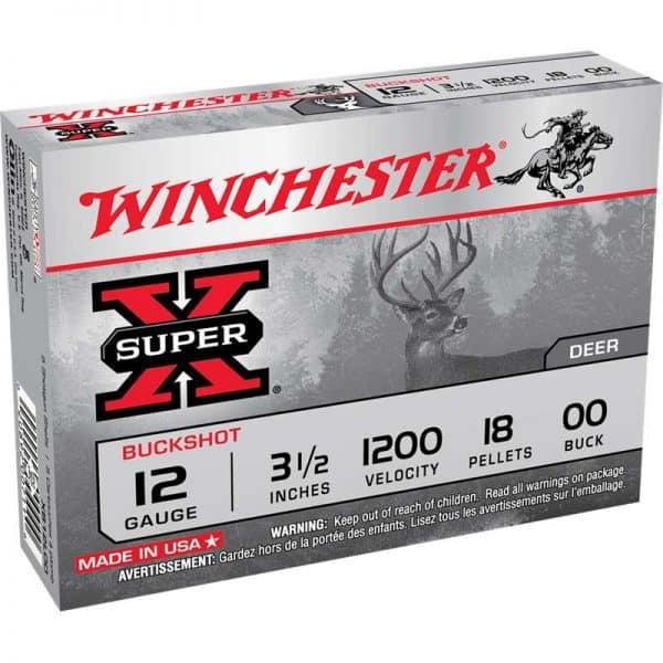 Winchester Super X Buck Shot