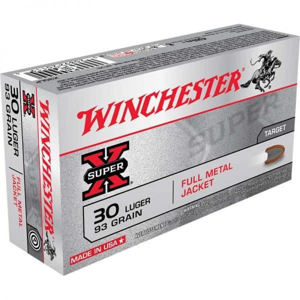 Winchester Super X Handgun Ammo